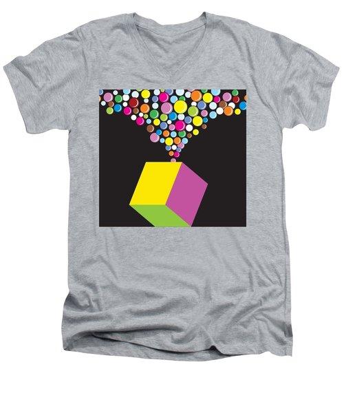 Eruption Men's V-Neck T-Shirt by Now