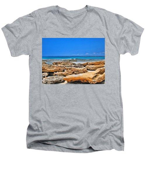 Es Trenc Men's V-Neck T-Shirt