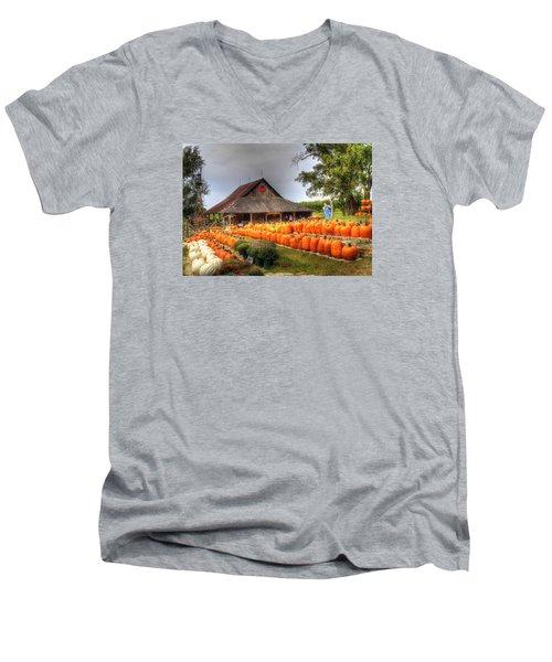 Escape To Autumn Men's V-Neck T-Shirt