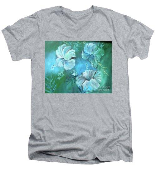 Escape To Serenity Men's V-Neck T-Shirt