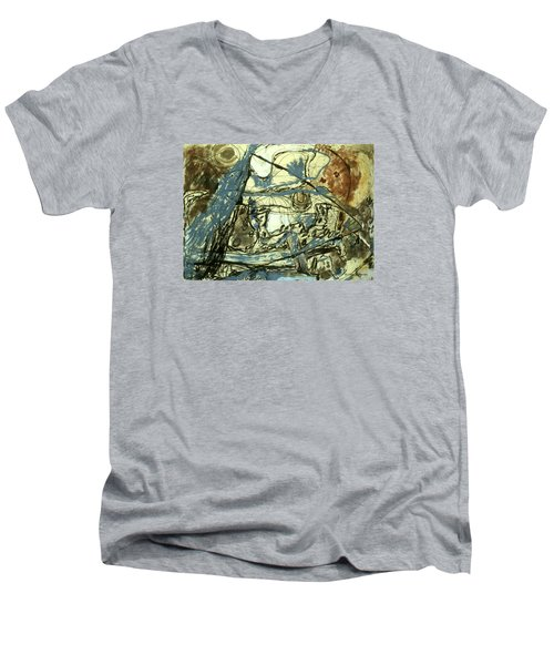 Escaping The Whirlwind Men's V-Neck T-Shirt