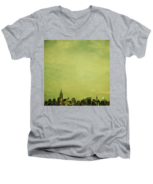 Escaping Urbania Men's V-Neck T-Shirt