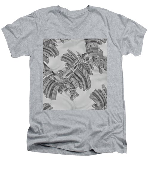 Escheresque Nyc Men's V-Neck T-Shirt