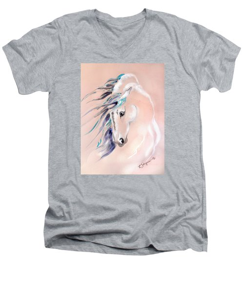 Essence Of Love Men's V-Neck T-Shirt