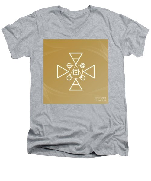 Essence Of The Spirit Men's V-Neck T-Shirt