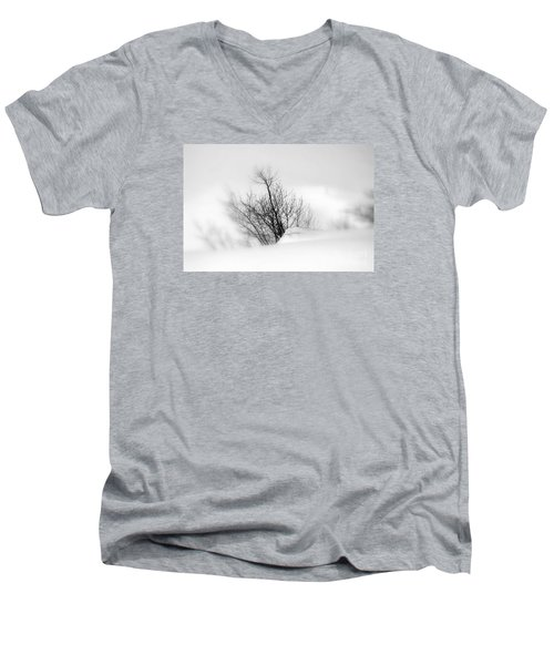 Essence Of Winter Men's V-Neck T-Shirt by Elfriede Fulda