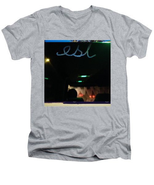 EST Men's V-Neck T-Shirt