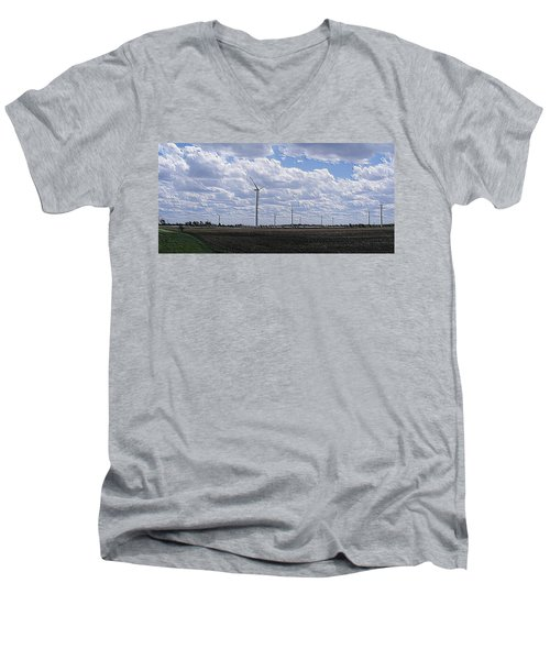 Etched In Stone Men's V-Neck T-Shirt