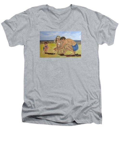 Eternal Offering Men's V-Neck T-Shirt