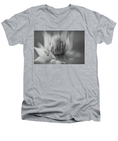 Ethereal In Black And White Men's V-Neck T-Shirt