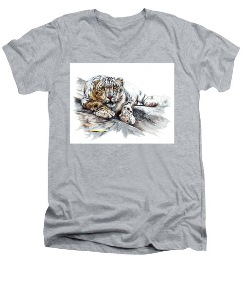 Ethereal Spirit Men's V-Neck T-Shirt