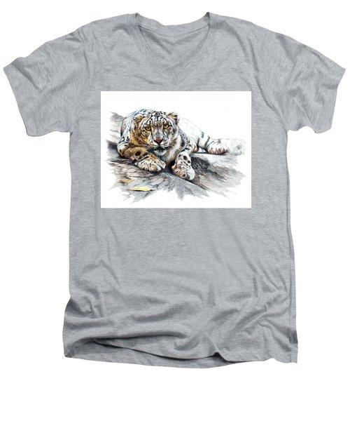 Ethereal Spirit Men's V-Neck T-Shirt