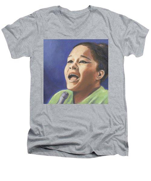 Etta James Men's V-Neck T-Shirt
