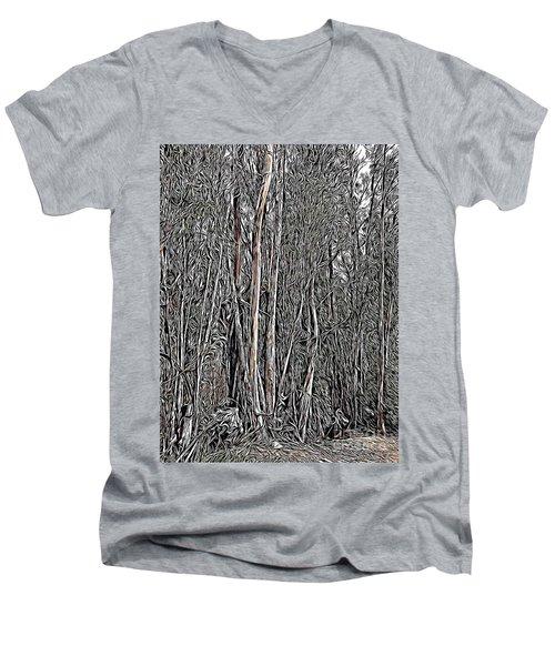 Eucalyptus  Men's V-Neck T-Shirt
