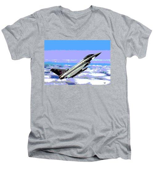 Eurofighter Typhoon Men's V-Neck T-Shirt