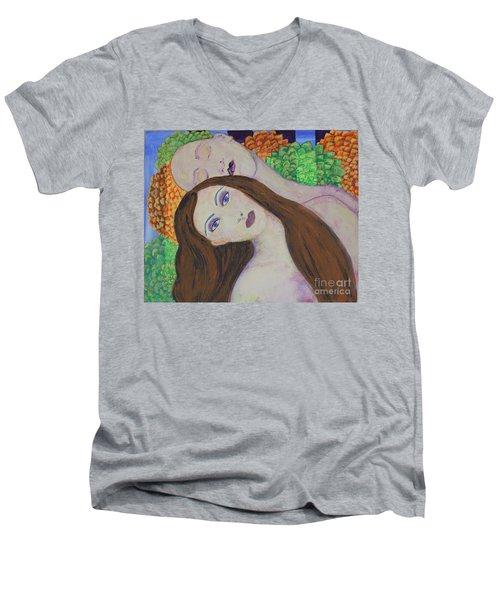 Eve Emerges Men's V-Neck T-Shirt