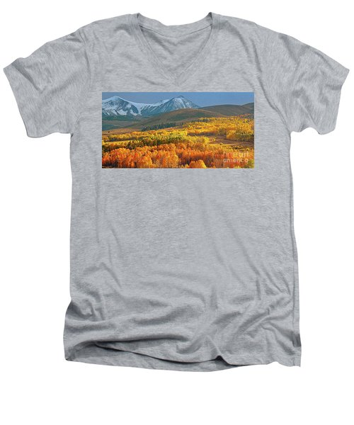 Evening Aspen Men's V-Neck T-Shirt