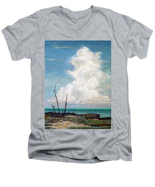 Evening Cloud Men's V-Neck T-Shirt