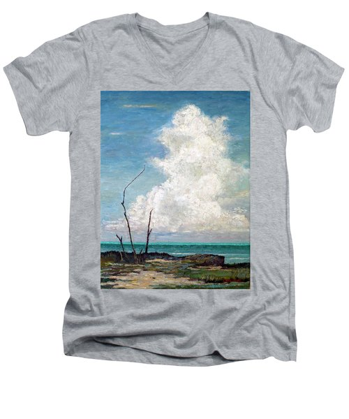 Evening Cloud Men's V-Neck T-Shirt