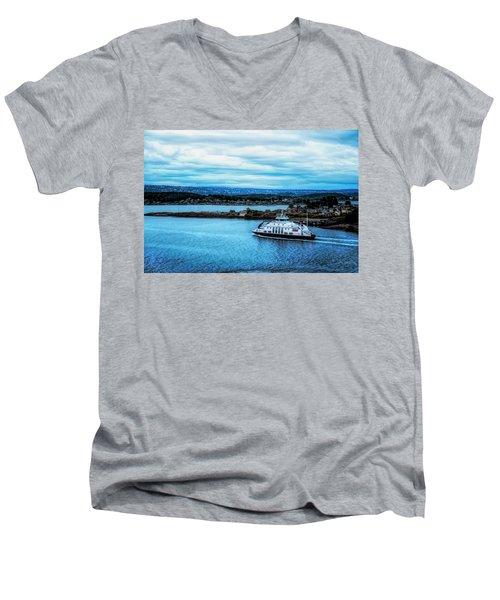 Evening Commute Men's V-Neck T-Shirt