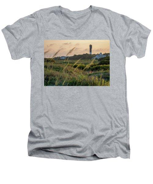 Evening Light Sullivan's Island Men's V-Neck T-Shirt