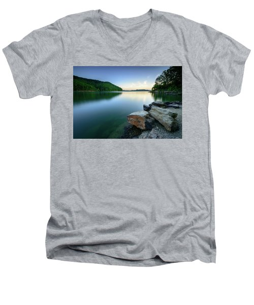 Evening Thoughts Men's V-Neck T-Shirt