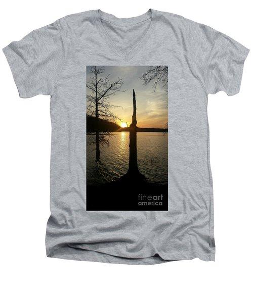 Evening Thoughts Men's V-Neck T-Shirt