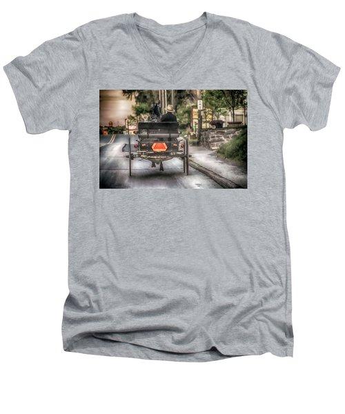 Evening Traveler Men's V-Neck T-Shirt