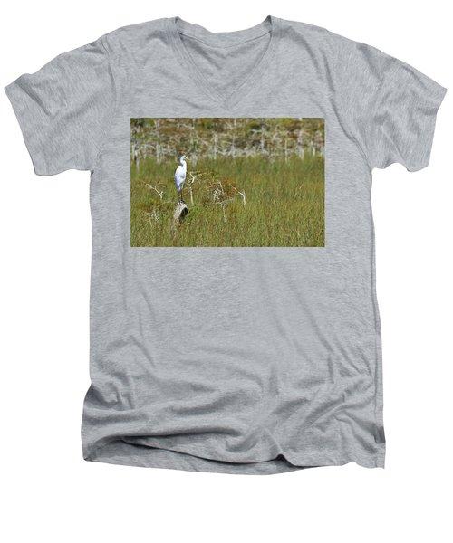 Everglades 451 Men's V-Neck T-Shirt