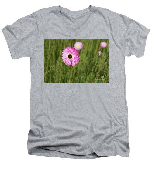 Everlasting  Men's V-Neck T-Shirt by Cassandra Buckley