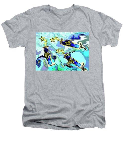 Everyone Gets A Trophy Men's V-Neck T-Shirt