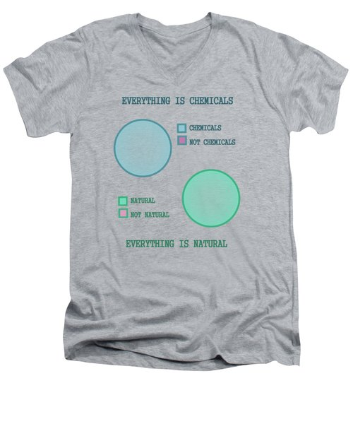 Everything Is Men's V-Neck T-Shirt
