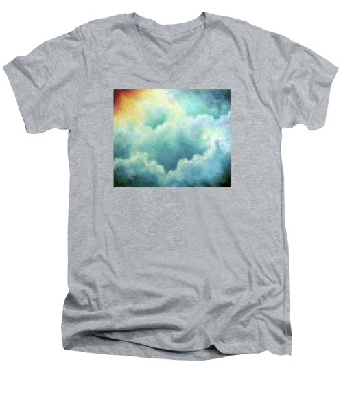 Evidence Of Angels Men's V-Neck T-Shirt