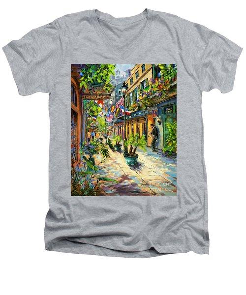Exchange Alley Men's V-Neck T-Shirt