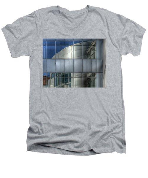 Exeter Hospital Men's V-Neck T-Shirt by Rick Mosher