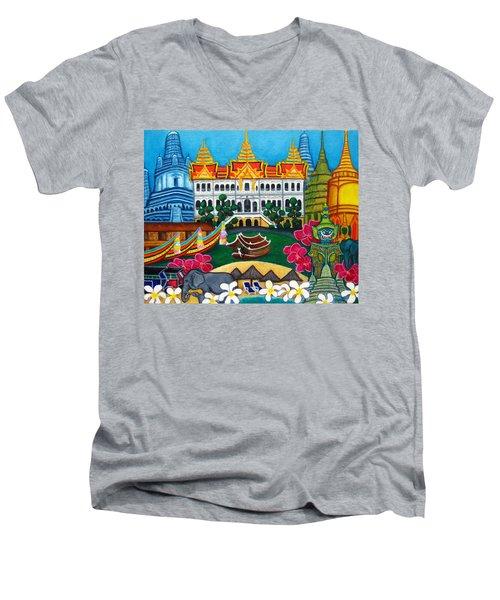Exotic Bangkok Men's V-Neck T-Shirt
