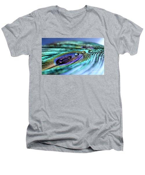 Exotic Drops Of Life Men's V-Neck T-Shirt