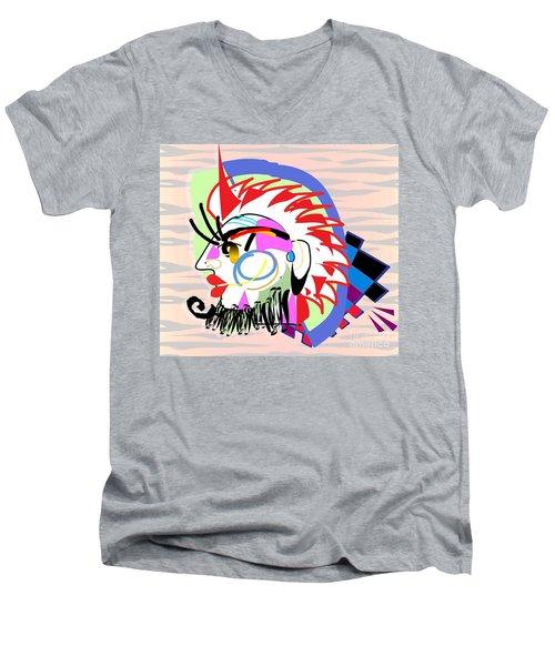 Exotic Mask Men's V-Neck T-Shirt