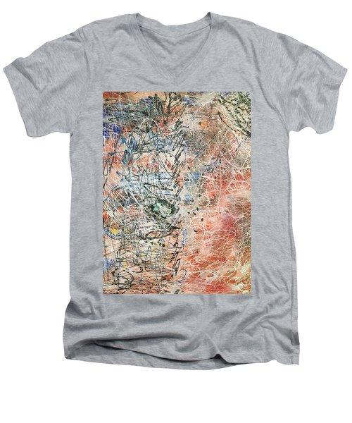 Exotic Nature  Men's V-Neck T-Shirt