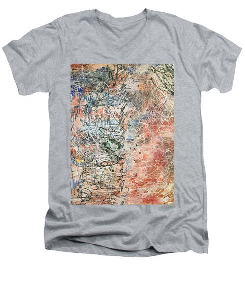 Exotic Nature  Men's V-Neck T-Shirt