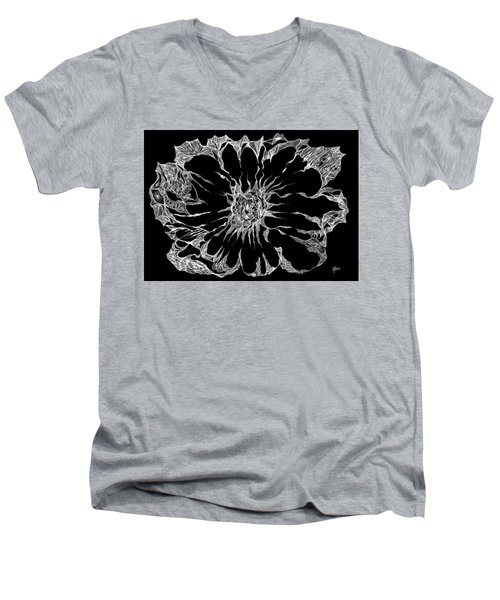 Expanded Consciousness Men's V-Neck T-Shirt by Charles Cater