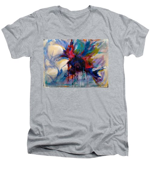 Expansion Men's V-Neck T-Shirt