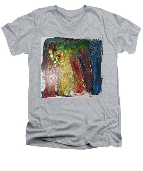 Experiment # 10 Men's V-Neck T-Shirt