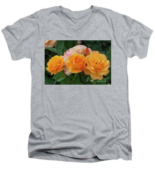 Experimental Roses 1 Men's V-Neck T-Shirt