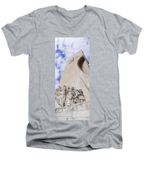 Explorers Men's V-Neck T-Shirt