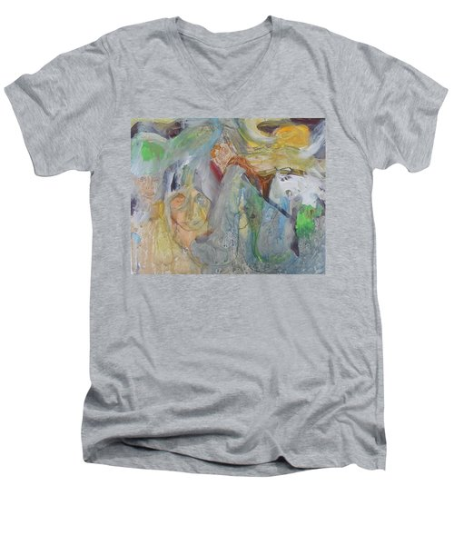 Exploring The Unknown Men's V-Neck T-Shirt