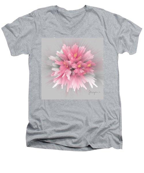 Explosion Men's V-Neck T-Shirt