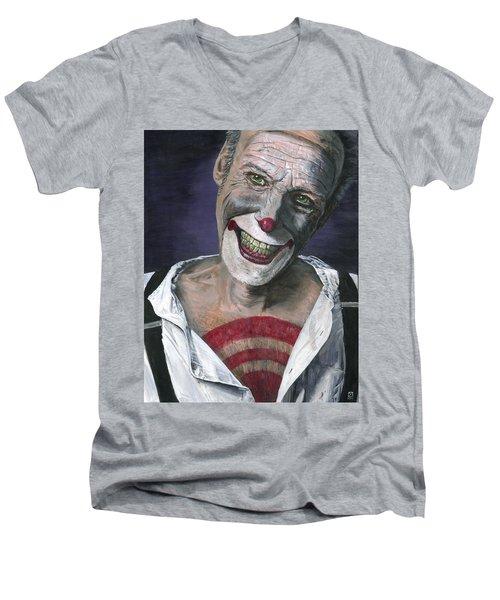 Exposed Men's V-Neck T-Shirt