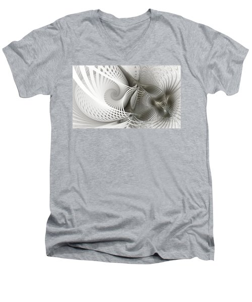 Extensions Men's V-Neck T-Shirt