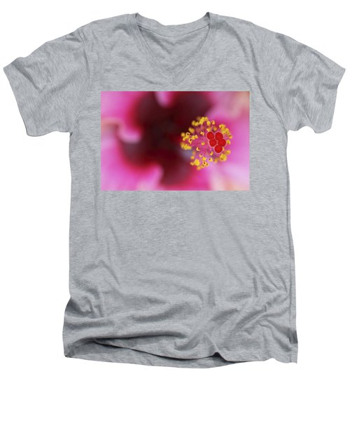 Extreme Hibiscus Men's V-Neck T-Shirt
